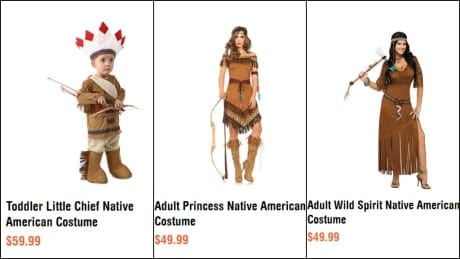 'It's demeaning to our women': Petition wants Indigenous costumes pulled from Spirit Halloween shelves