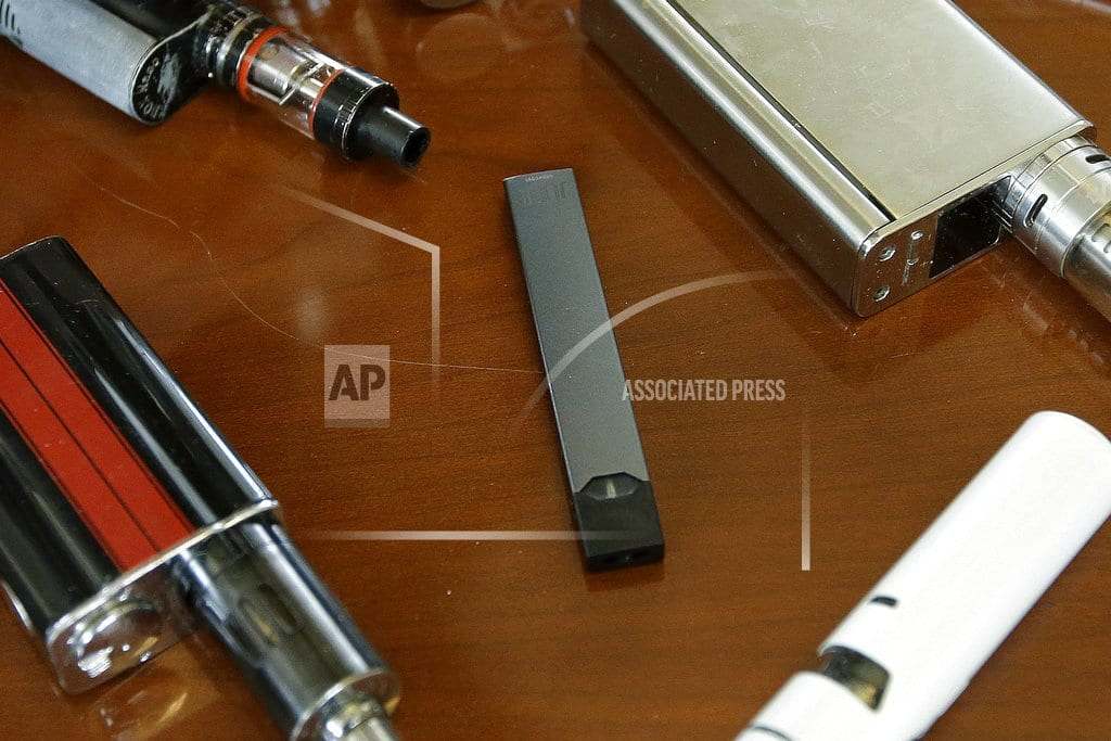 NEW YORK | E-cigarette company Juul halts sales of flavors at stores