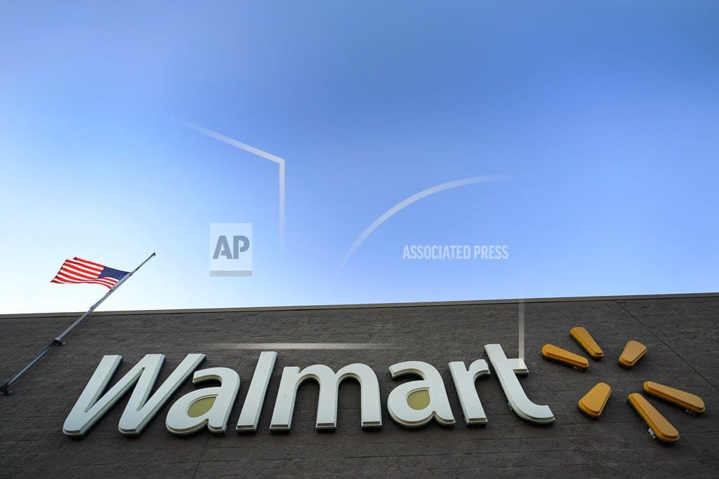 NEW YORK | Walmart sales strong, both online and in stores