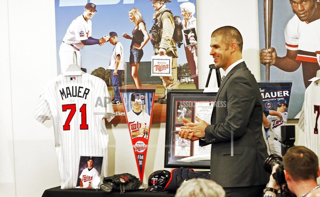 MINNEAPOLIS | For Joe Mauer, being from Minnesota means this isn't goodbye
