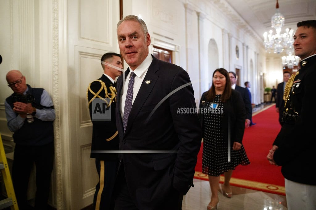 BILLINGS, Mont. | Zinke '100 percent confident' he'll be cleared in probes