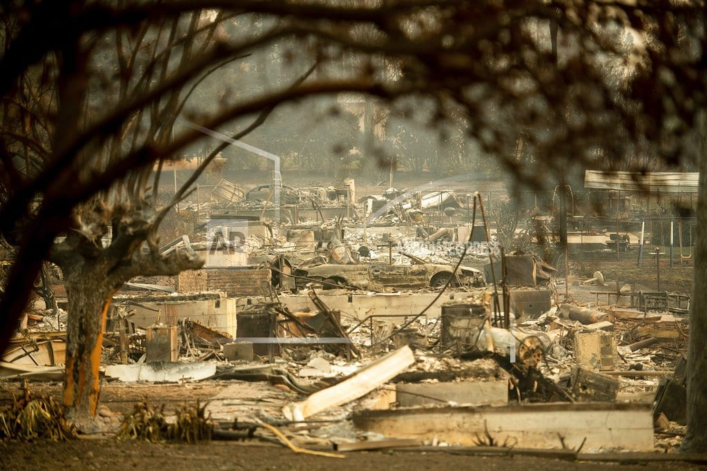 PARADISE, Calif. | Dead in cars and homes: Northern California fire toll at 42