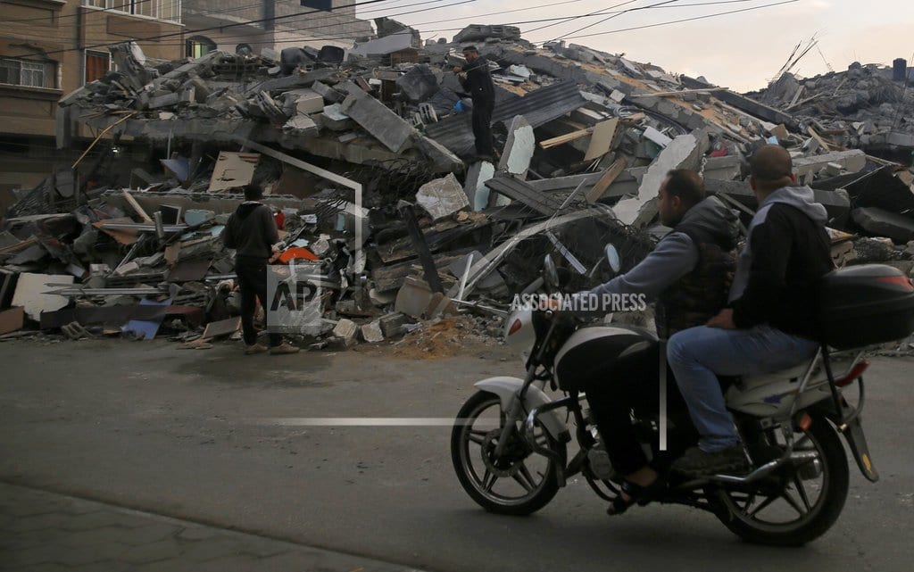 GAZA CITY, Gaza Strip | Cease-fire takes hold between Israel and Hamas