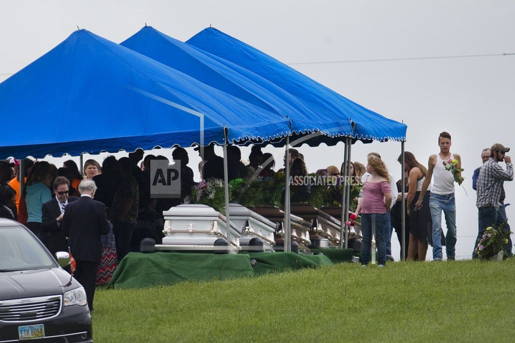 COLUMBUS, Ohio | Authorities announce arrests in slaying of 8 family members