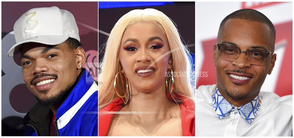 NEW YORK | Cardi B, Chance, T.I. to judge hip-hop competition series