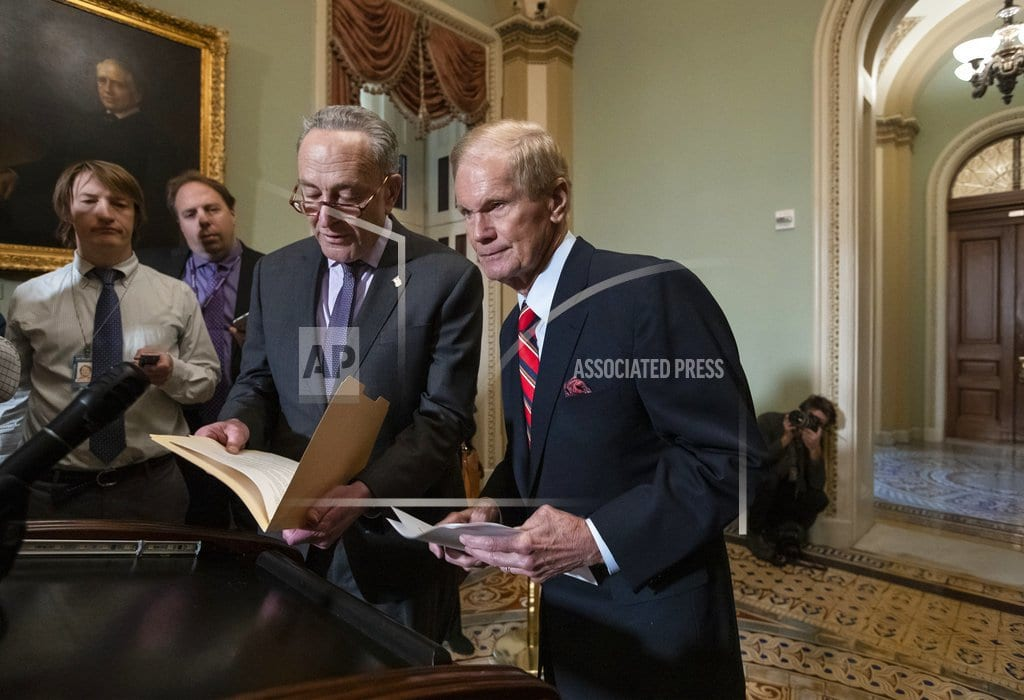 WASHINGTON   McConnell, Schumer re-elected as Senate party leaders
