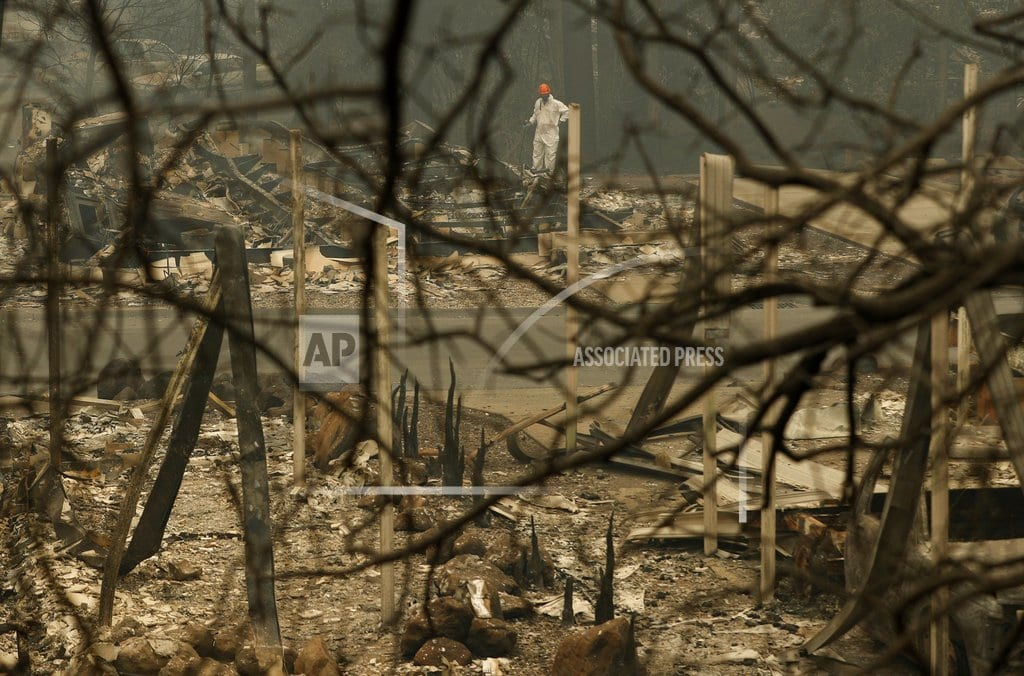 CHICO, Calif.   The Latest: Utility sued over fire sees huge stock drop
