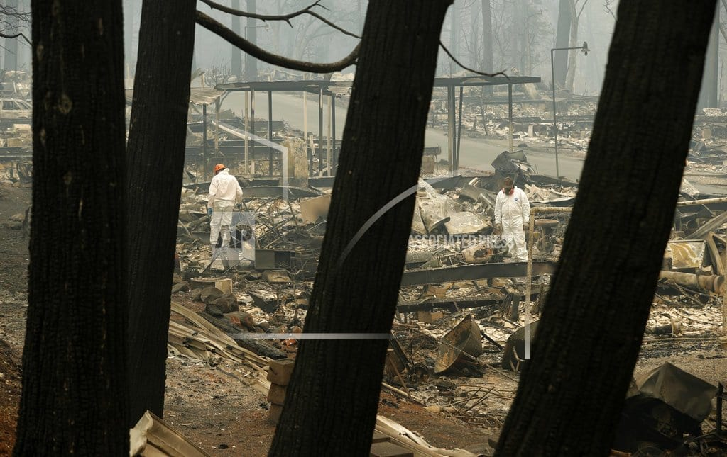 CHICO, Calif.   The Latest: Cool weather helps firefighters in N. California