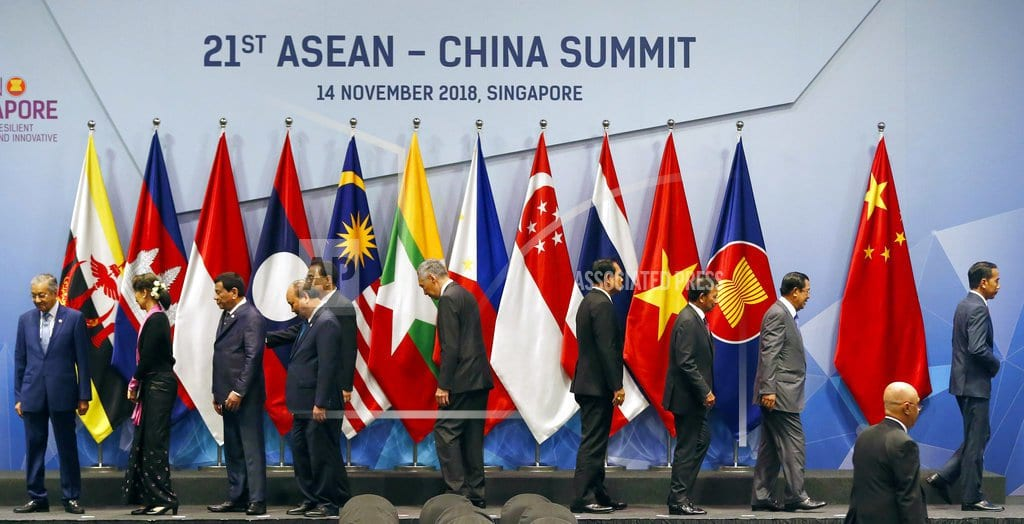 SINGAPORE  | Asian leaders push toward pacts on South China Sea, trade