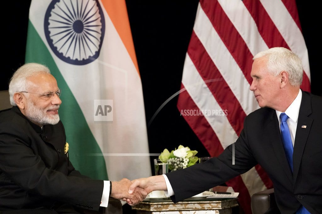 SINGAPORE    Pence says US committed to Indo-Pacific, not seeking control