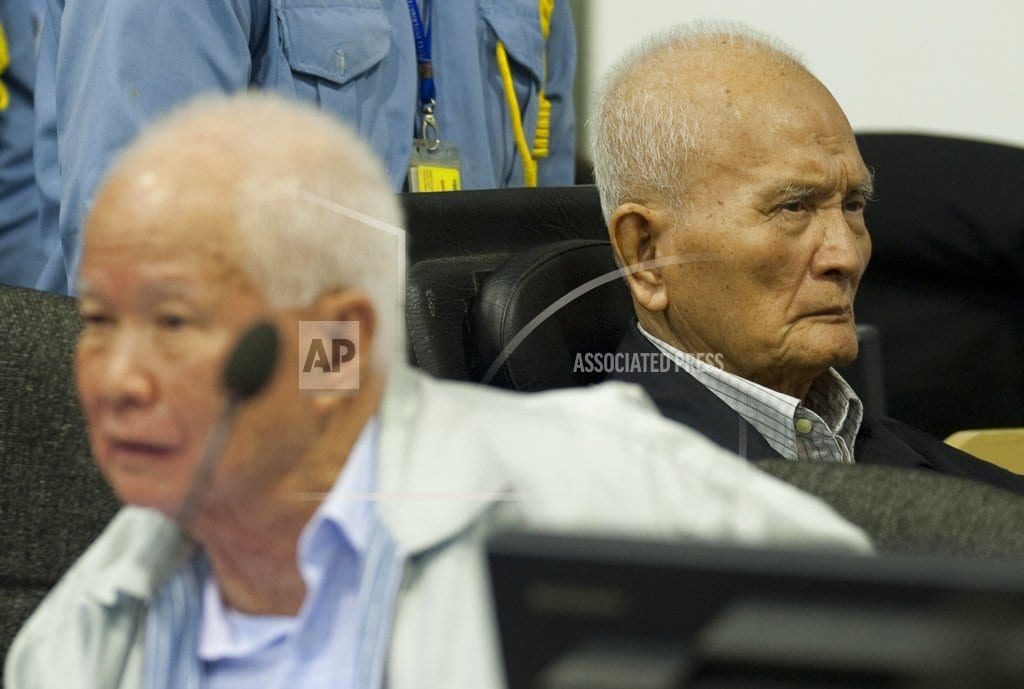 PHNOM PENH, Cambodia    Verdicts on Khmer Rouge leaders may be tribunal's last gasp