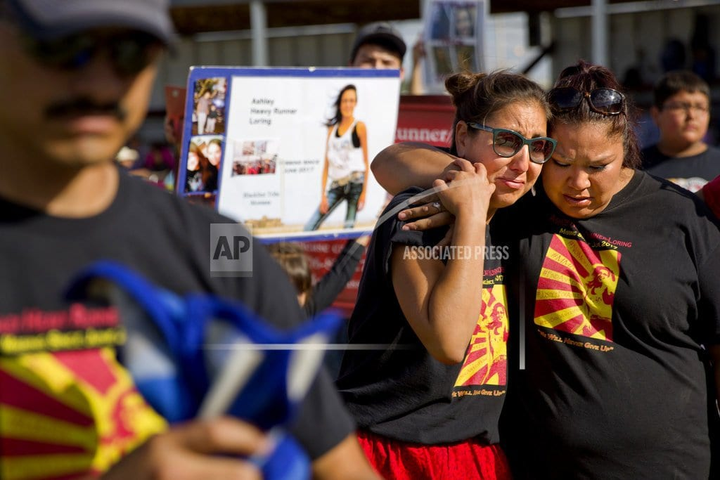 ALBUQUERQUE, N.M.   Report cites weak reporting on missing, killed Native women