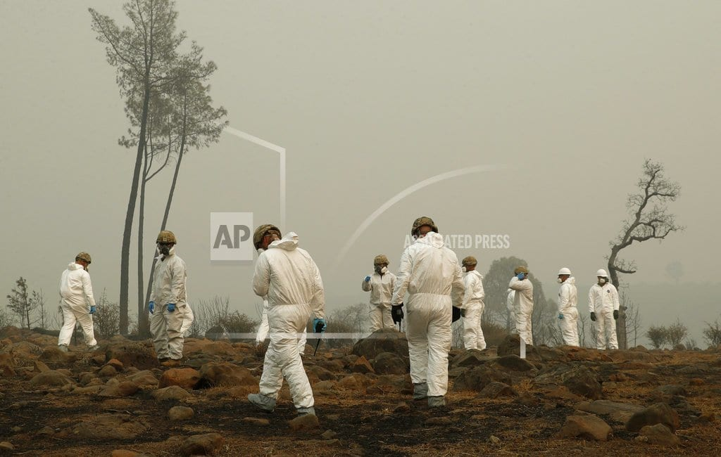 MAGALIA, Calif.   Fire death toll at 56 and counting in Northern California