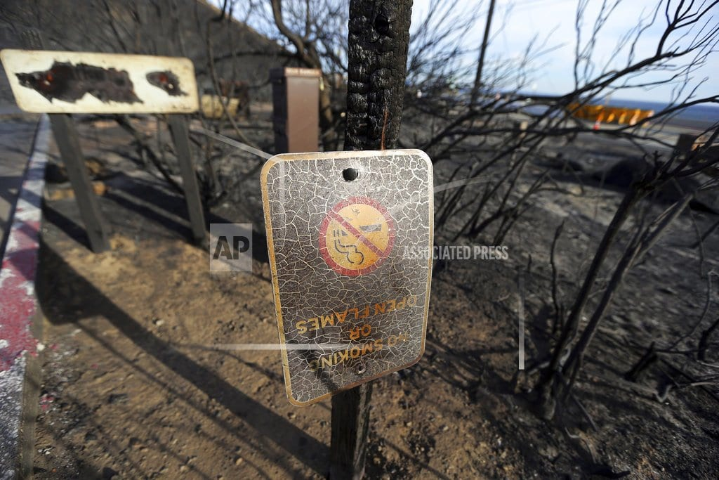 MAGALIA, Calif.| The Latest: New wildfire burning in Southern California