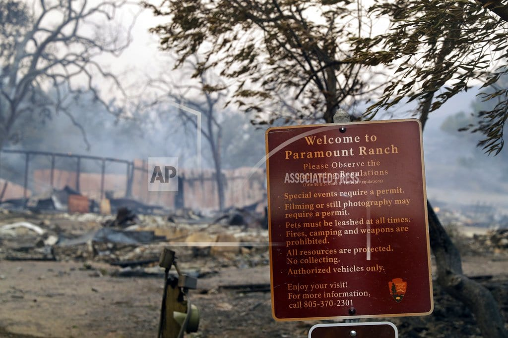 LOS ANGELES | Southern California fire scorches huge swath of public lands