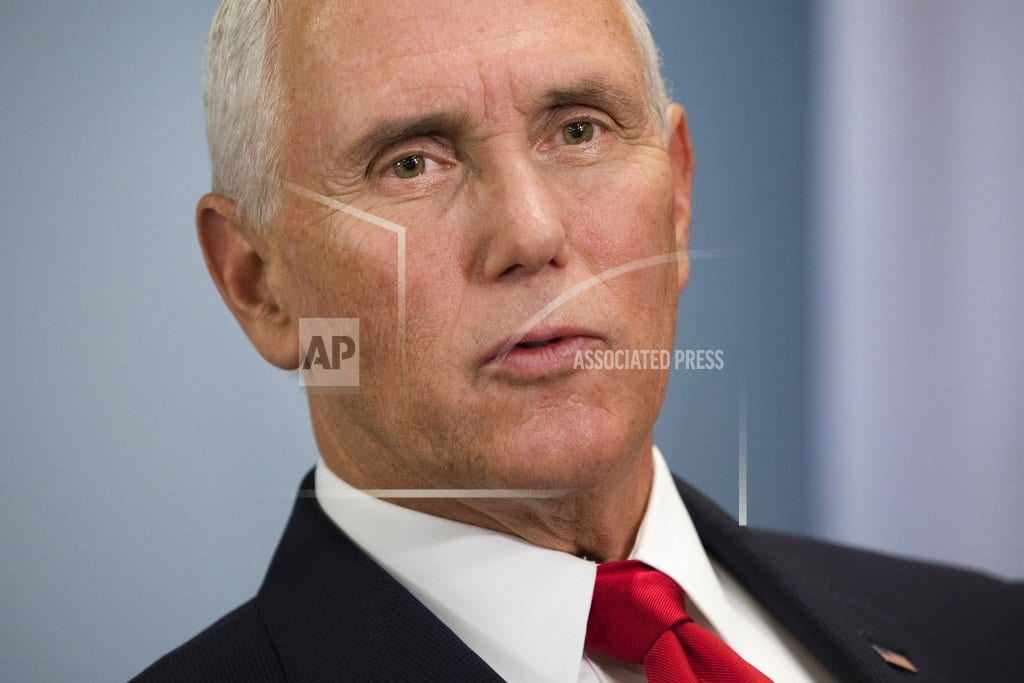 SINGAPORE  | The Latest: Pence says next US-NKorea summit after New Year