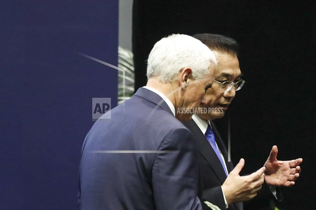 SINGAPORE | US, China see rival visions for entwined Asia-Pacific region