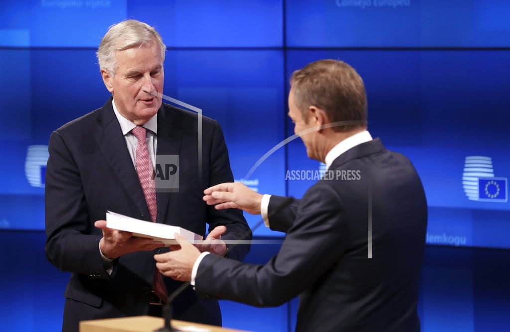 BRUSSELS | EU and Britain start on campaign to sell Brexit deal