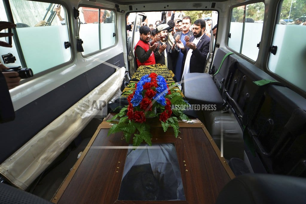 PESHAWAR, Pakistan | Missing Pakistani police officer's body found in Afghanistan