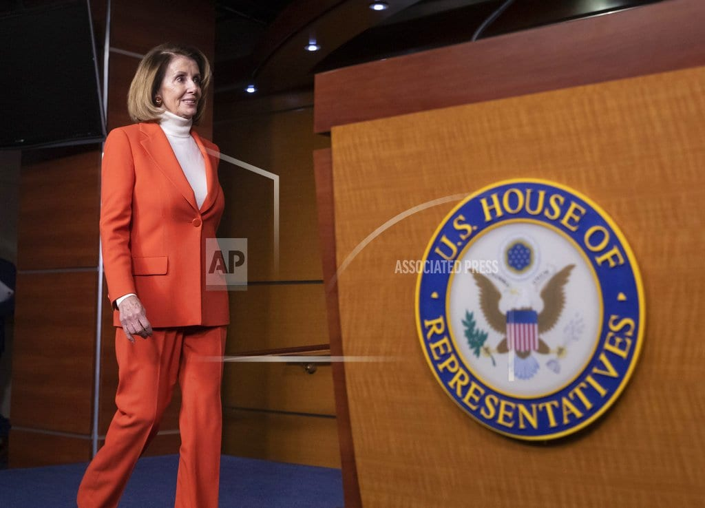 WASHINGTON | Pelosi claims 'overwhelming support' for 2nd act as speaker