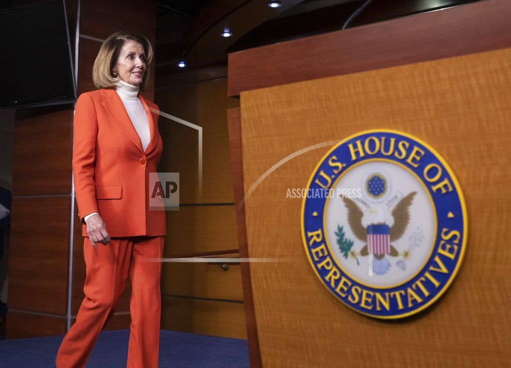WASHINGTON   Pelosi claims 'overwhelming support' among Dems for speaker