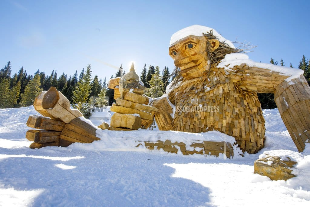 BRECKENRIDGE, Colo  |  Giant wooden troll removed in Colorado could get new home
