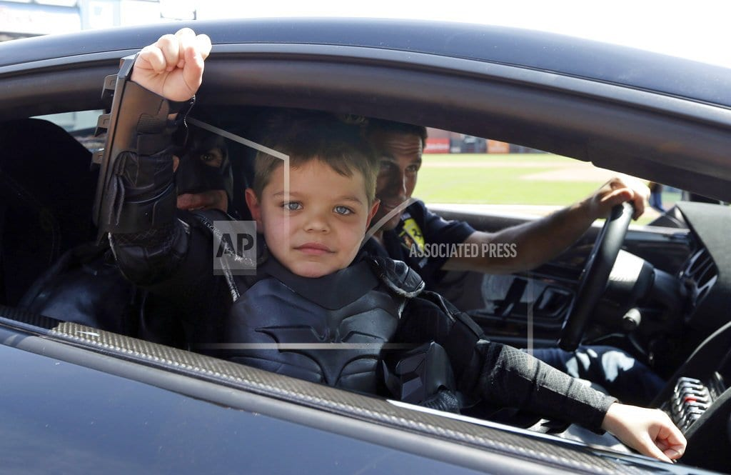 SAN FRANCISCO | Batkid Miles Scott is healthy and thriving now cancer-free