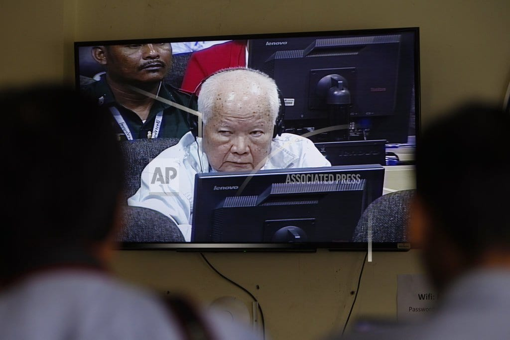 PHNOM PENH, Cambodia | The Latest: Last Khmer Rouge leaders get 2nd life sentence