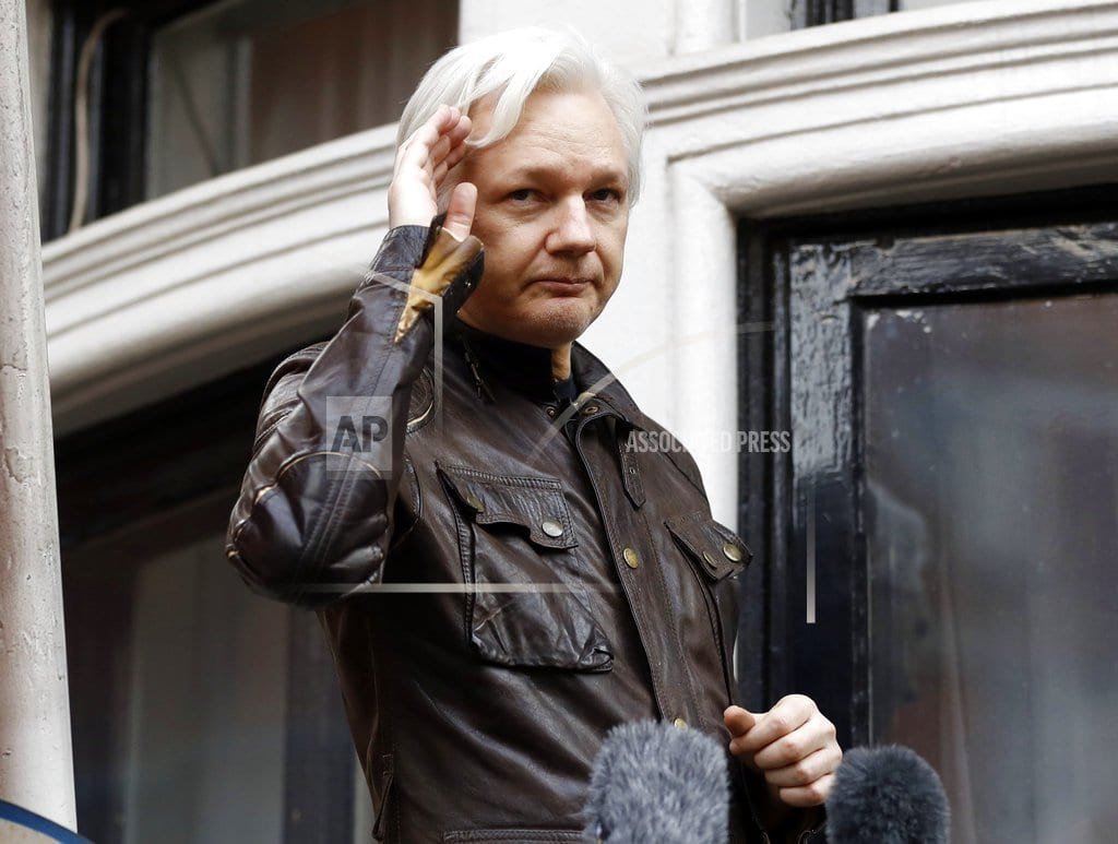 WASHINGTON | WikiLeaks chief could see charges, US court filing suggests