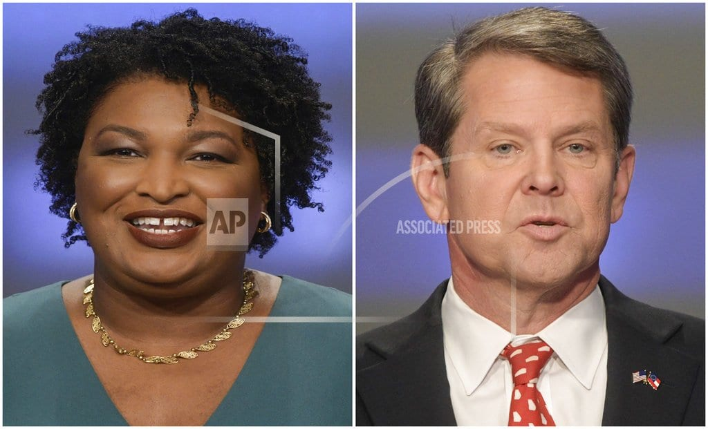 ATLANTA   | The Latest: Kemp says Georgia race over, state to look ahead