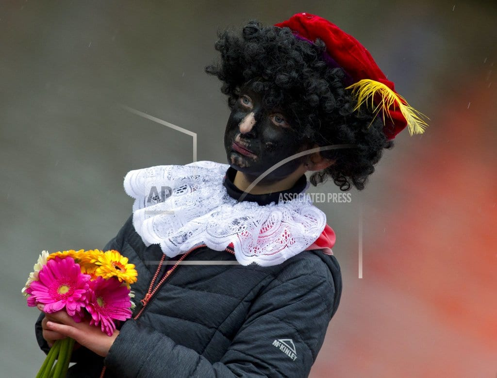 THE HAGUE, Netherlands | Protests to greet Dutch Santa and his black-faced sidekick