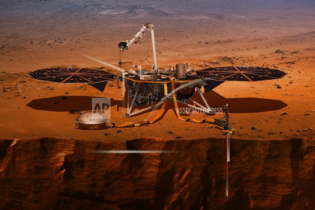 CAPE CANAVERAL, Fla. | Mars getting 1st US visitor in years, a 3-legged geologist