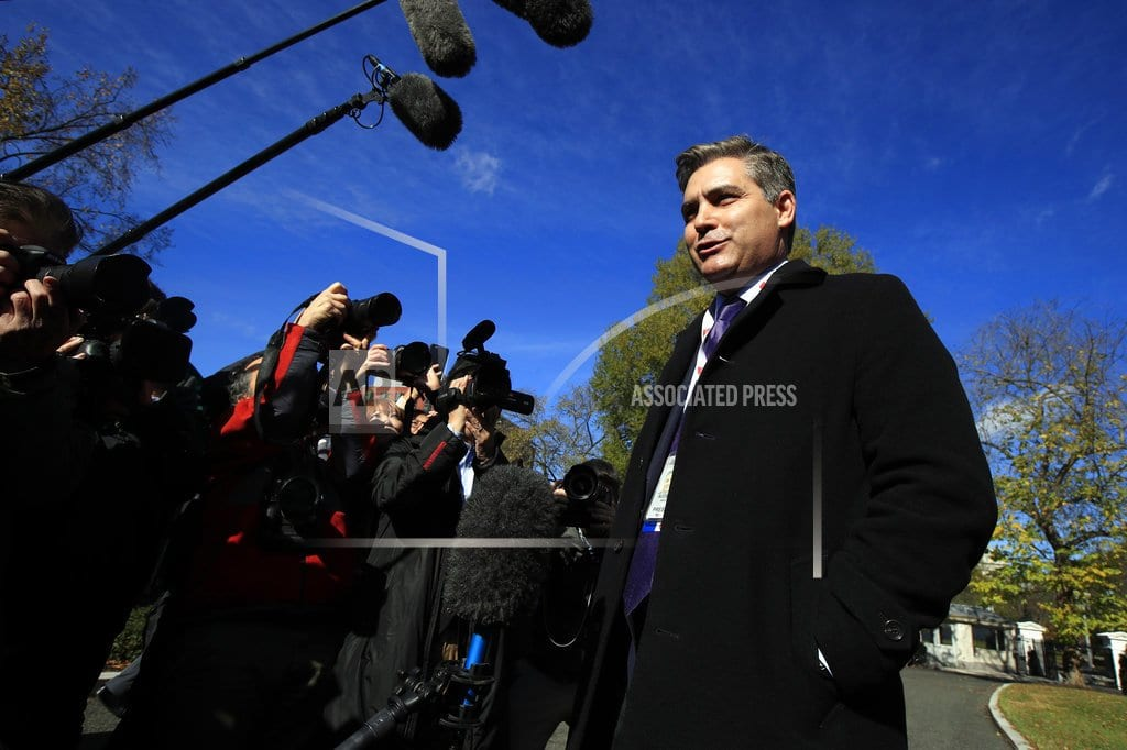 WASHINGTON | The Latest: White House writing up rules for reporters