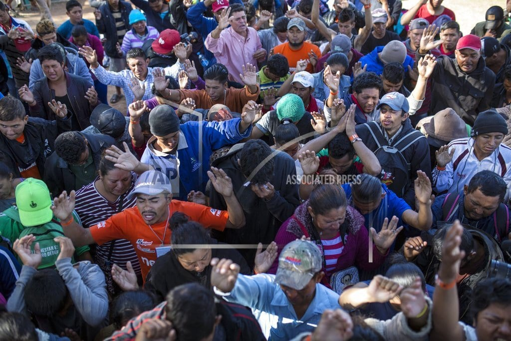 TIJUANA, Mexico | Tijuana mayor: Caravan influx to last at least 6 months
