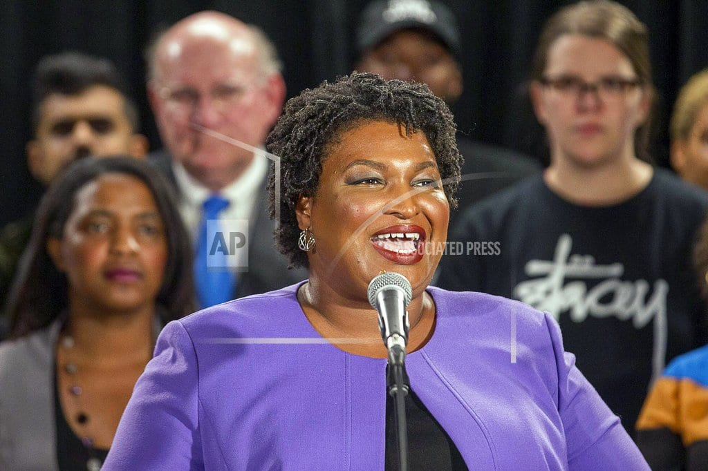 ATLANTA | Abrams ends Georgia governor bid; says she'll file lawsuit