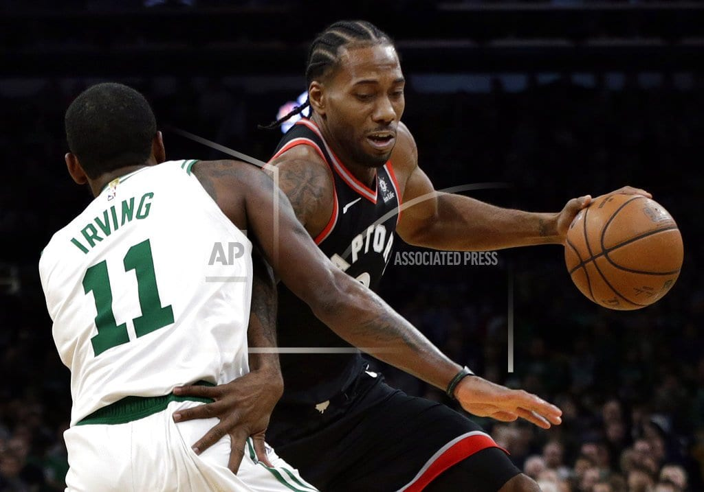 BOSTON  | Kyrie scores 43, Celtics beat Raptors 123-116 in OT