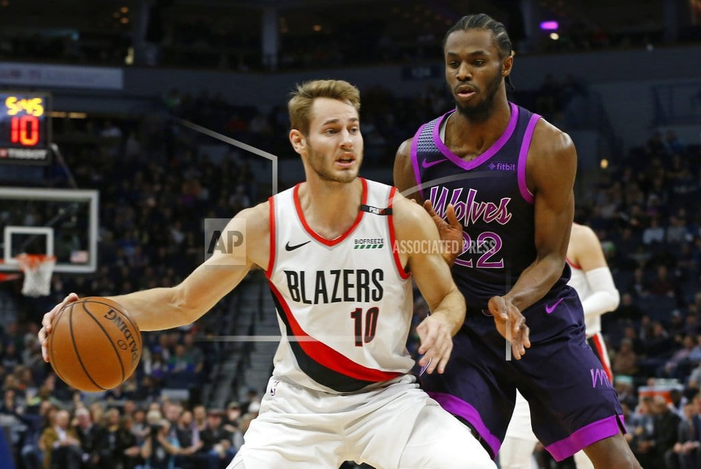 MINNEAPOLIS | Wolves beat Blazers for 3rd straight win since Butler trade