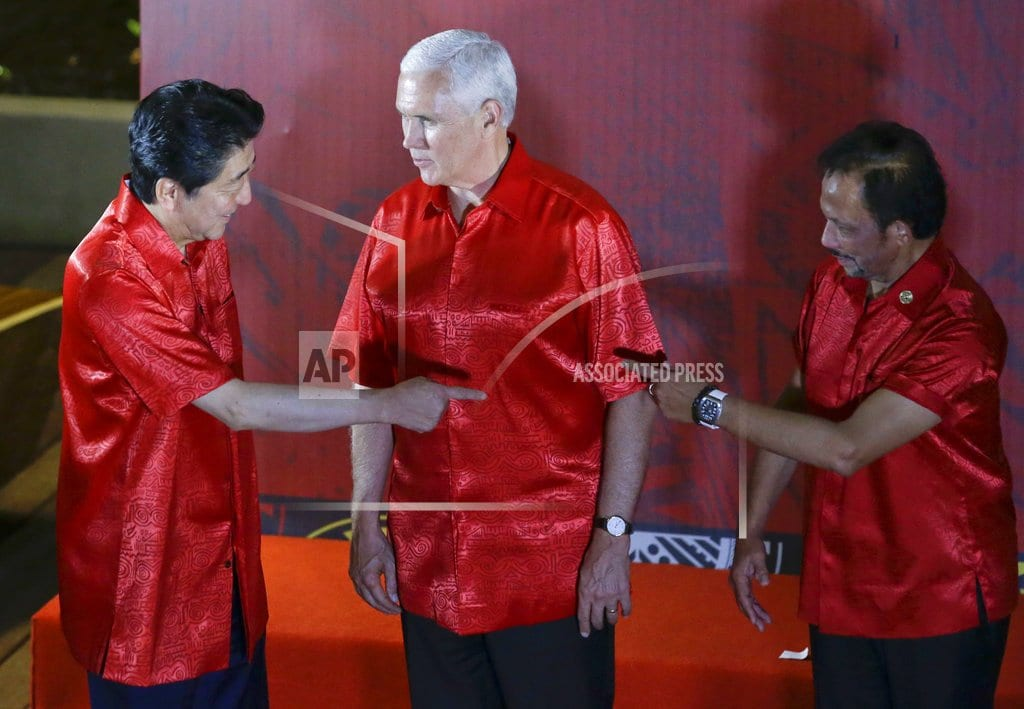 PORT MORESBY, Papua New Guinea | Pence, Xi trade barbs in speeches at Pacific summit