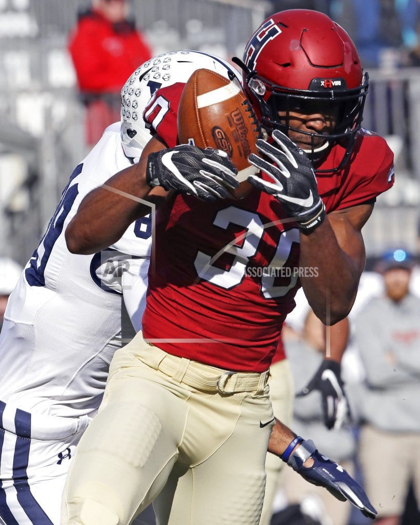 BOSTON | Harvard beats Yale 45-27 as The Game sets scoring record
