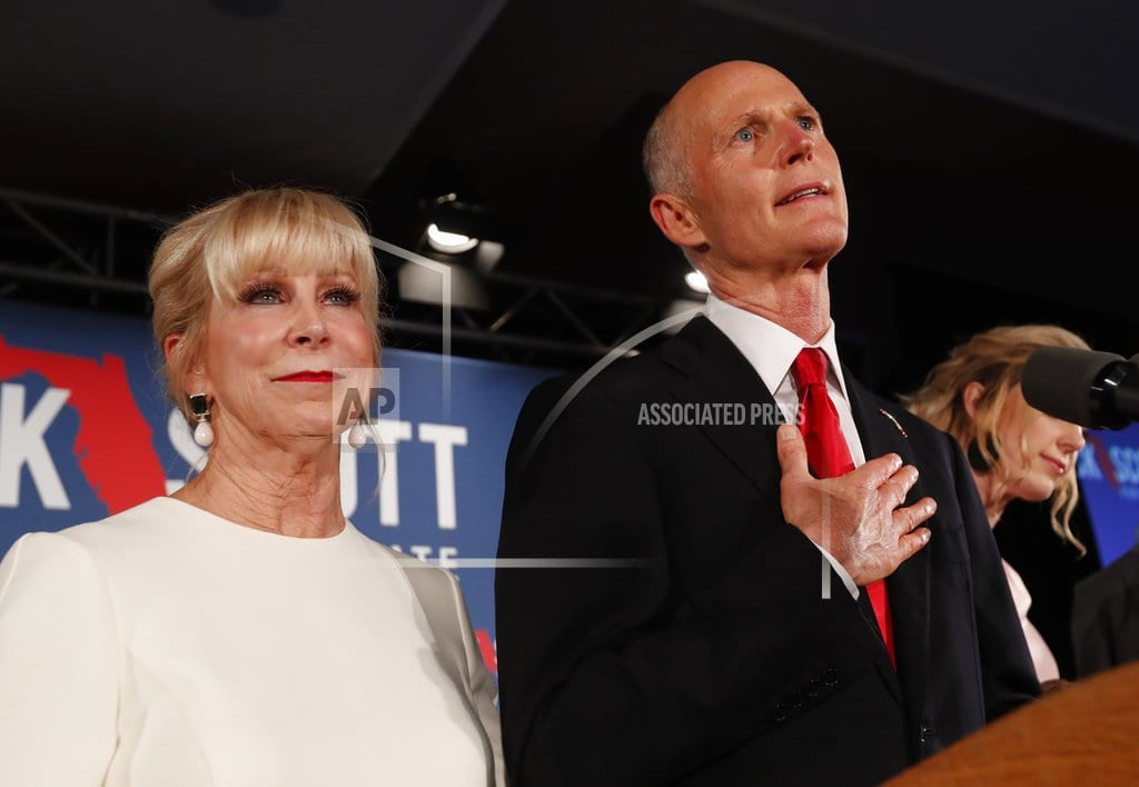 TALLAHASSEE, Fla  |  As Florida recount ends, Sen. Nelson concedes race to Scott