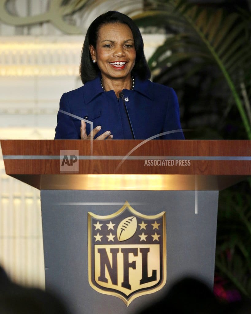 CLEVELAND | Browns GM: Team not discussed Condoleezza Rice as coach