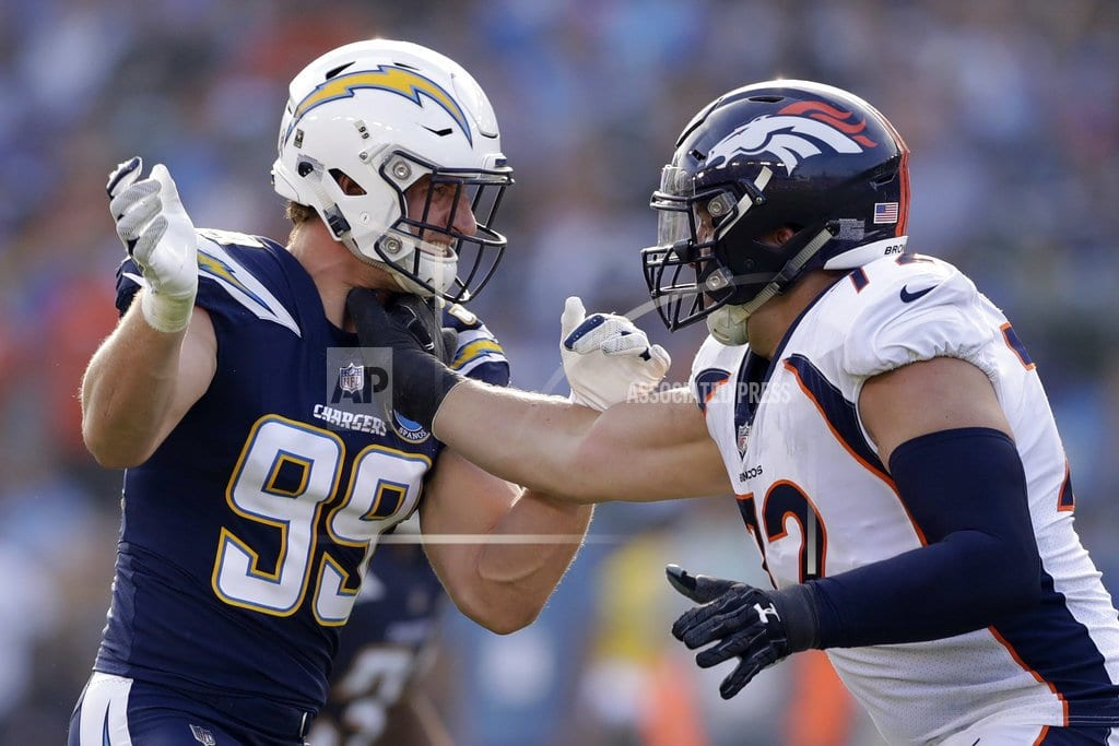 CARSON, Calif | McManus' FG as time expires lifts Broncos over Chargers