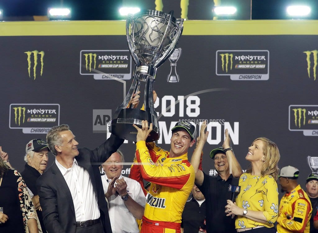 HOMESTEAD, Fla. | Joey Logano spoils Big 3 party to win NASCAR title