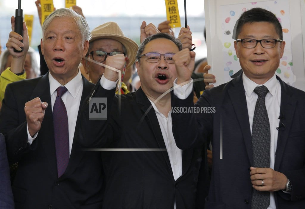 HONG KONG | Hong Kong protest leaders warn of threat to civil rights