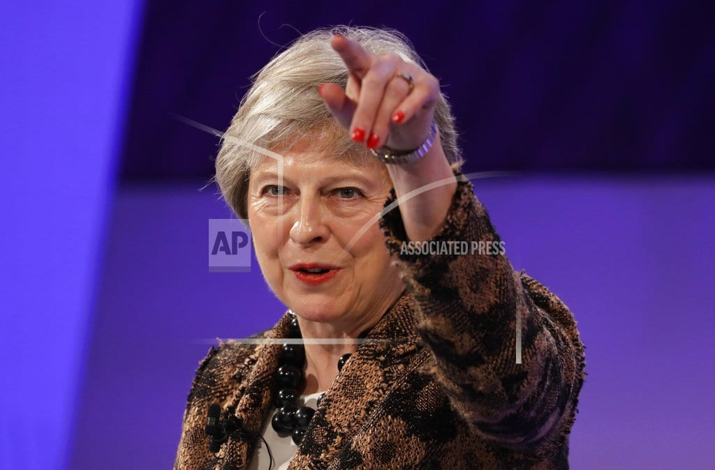 LONDON   The Latest: May says rejecting her deal could mean no Brexit