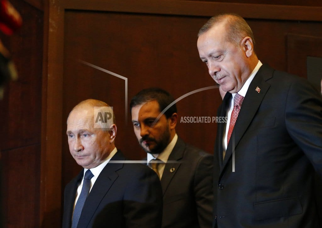 ISTANBUL | Putin and Erdogan mark key phase in natural gas pipeline