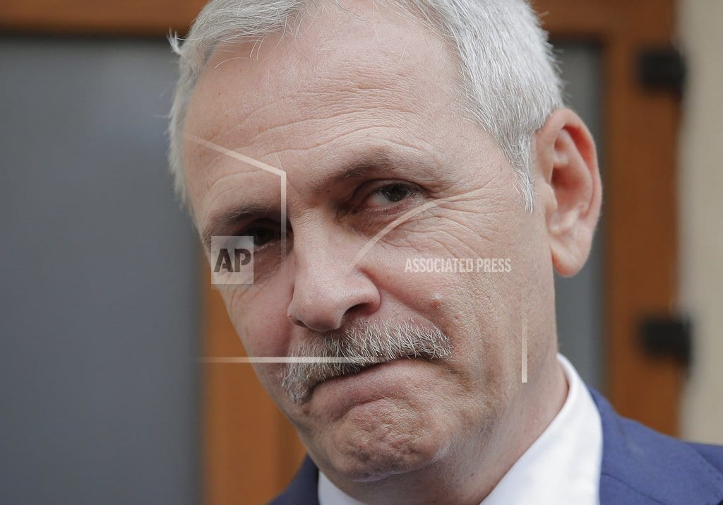 BUCHAREST, Romania | 6 Romanian ministers fired as party leader seeks more power