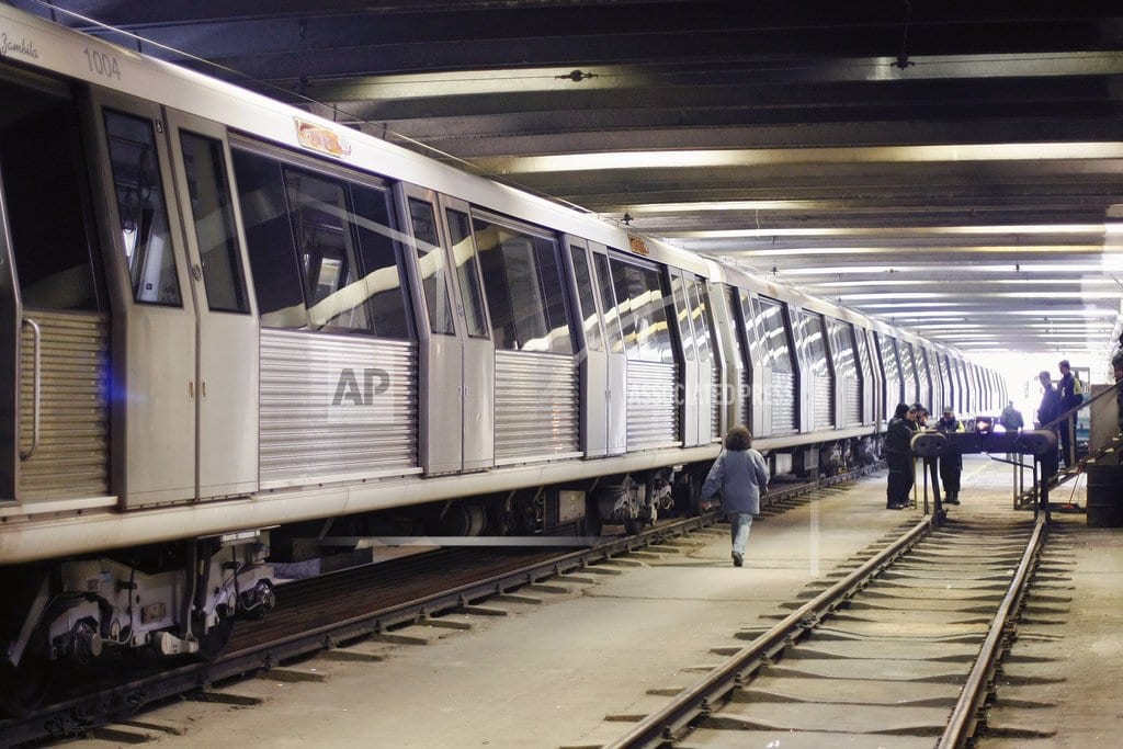 BUCHAREST, Romania | Subway workers to stage strike in Romanian capital
