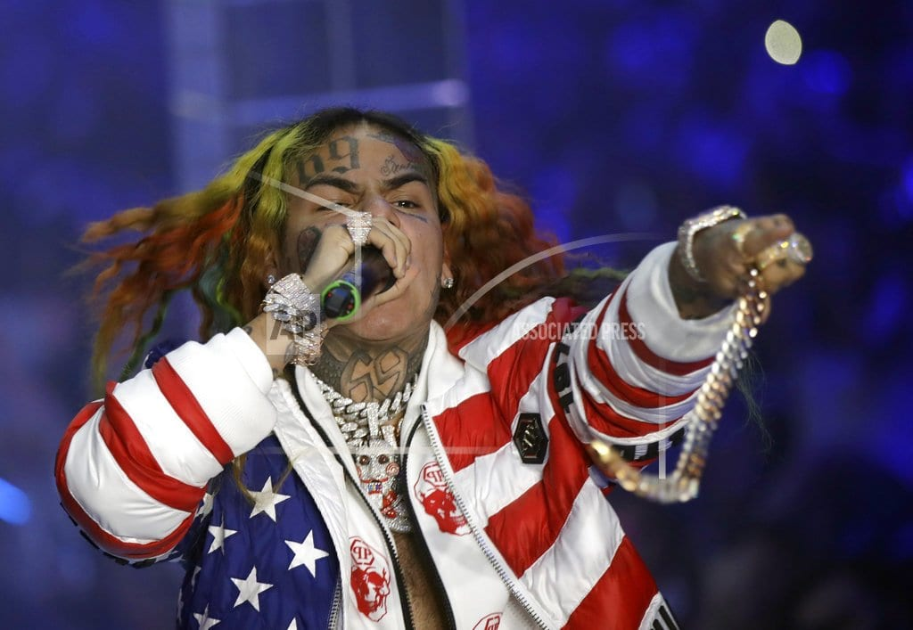 NEW YORK  | Brooklyn rapper 6ix9ine arrested on racketeering charges