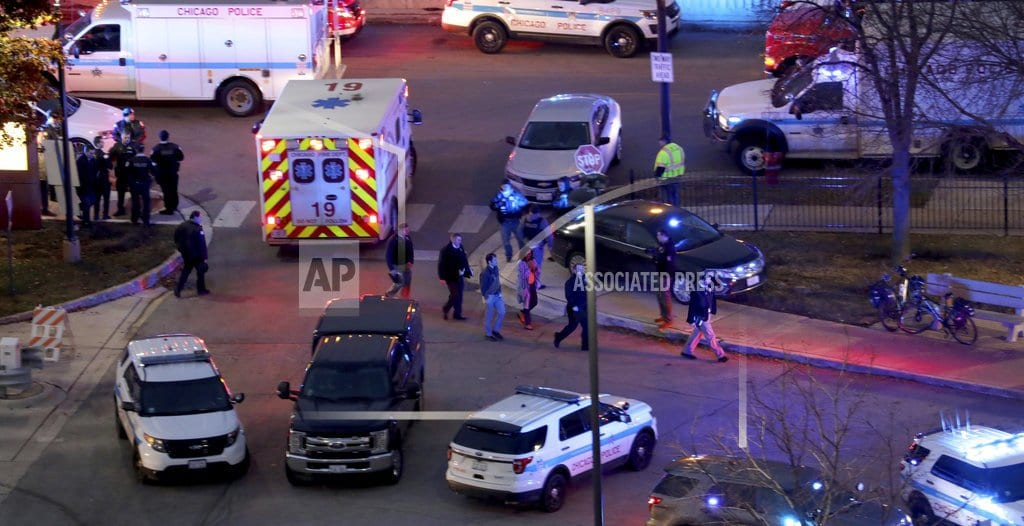 CHICAGO  | The Latest: 2 hospital employees, policeman and gunman dead